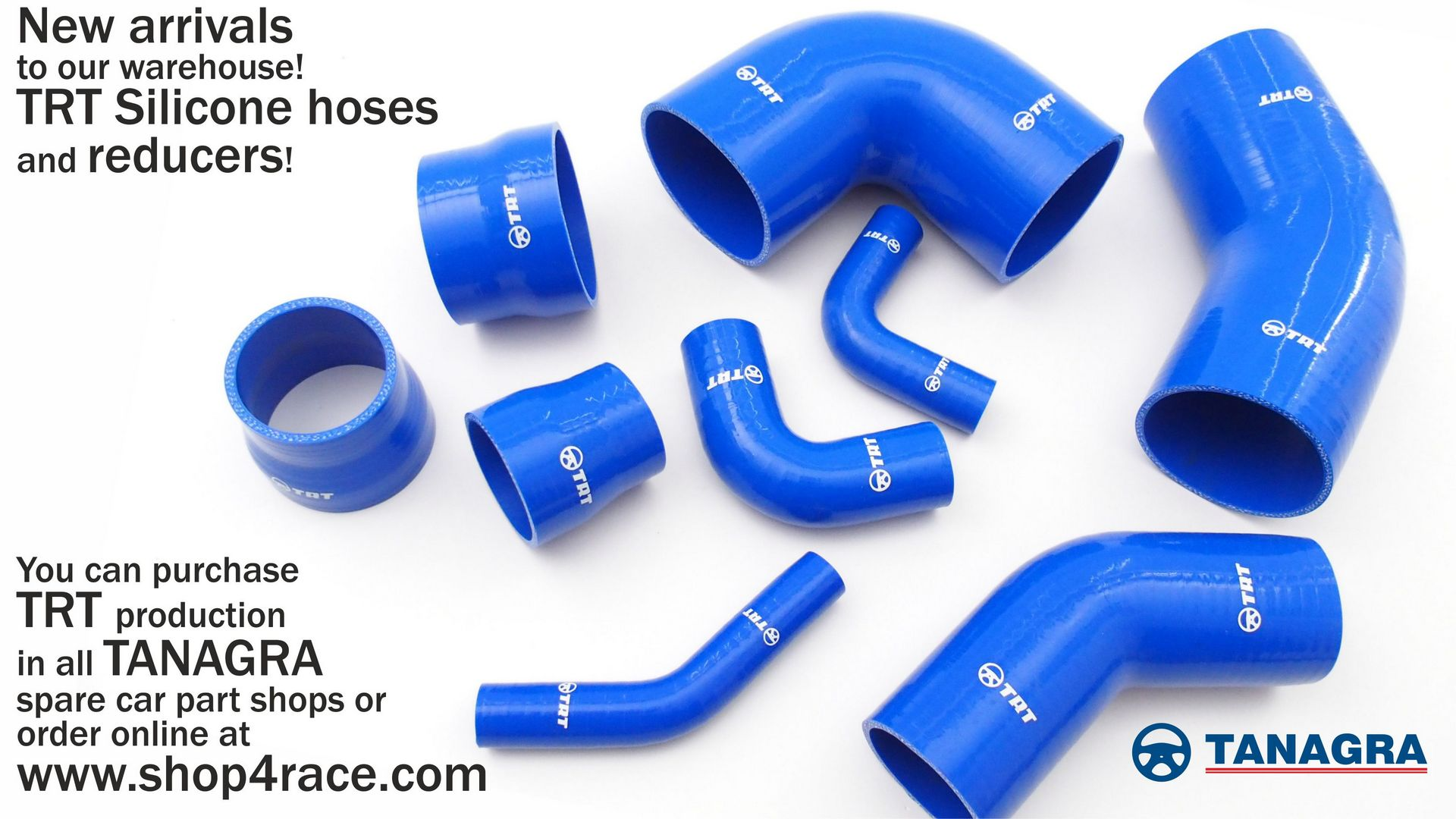 TRT Silicone hoses, and reducers!